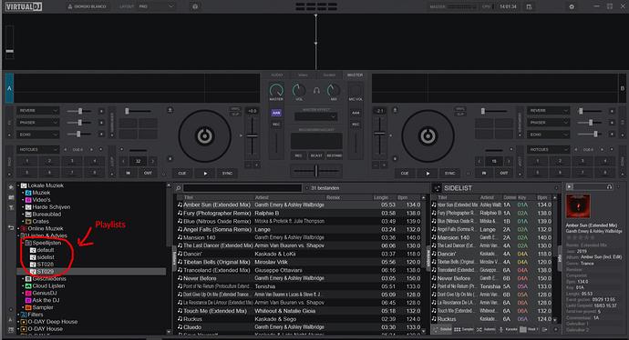 VirtualDJ-Playlists